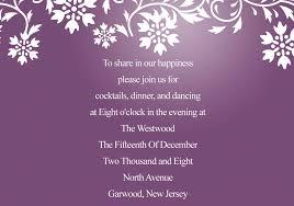 reception invitations fascinating purplish snow flake wedding invitations iwi004