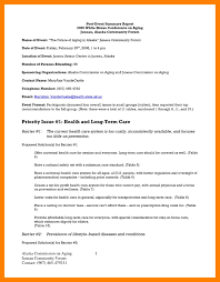 conference summary report template conference summary report template unique summary report format