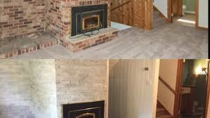 Whitewashing A Fireplace by A Diy Fireplace Facelift For Just 50 Inforum