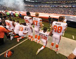 Cleveland Browns Flag Wisconsin Governor Tells Nfl Players To Stop Anthem Protests Pbs