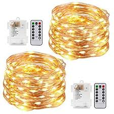 aa battery light bulb kohree string lights led copper wire fairy christmas light with