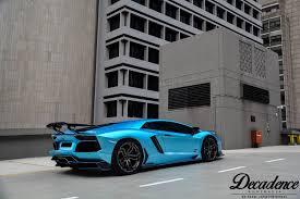 Blue Lamborghini Aventador - photo of the day metallic lightning blue lamborghini aventador