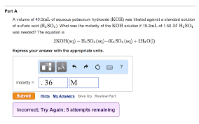mastering chemistry help please show the steps an chegg com