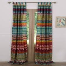 Multi Color Curtains Multicolored Curtain Panels Hayneedle