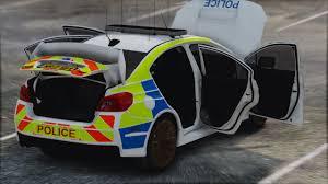 2017 police subaru impreza wrx replace els gta5 mods com