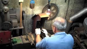 japanese knife making at kikuichi in japan youtube