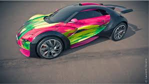 citroen sports car 2010 citroen survolt art car concept pictures news research
