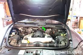 Porsche Cayenne Warning Lights - porsche cayenne crankshaft position sensor replacement 2003 2008