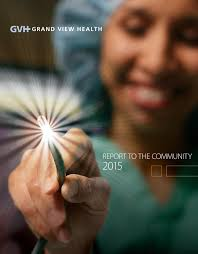 Madeline Leidy Gvh Annual Report 2015 By Grand View Health Issuu