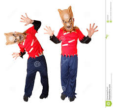 Werewolf Halloween Costume Halloween Werewolf Costume Royalty Free Stock Image Image 16753136