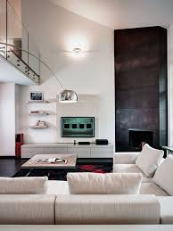 ArchitectureModern Living Room Design Ideas With Corner Fireplace - Interior design ideas for living rooms contemporary