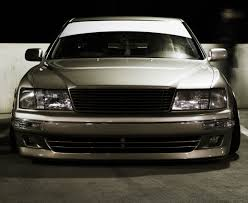 bagged ls400 front shot of my buddy u0027s ls400 stance