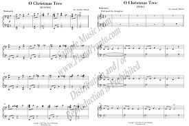o christmas tree duet from