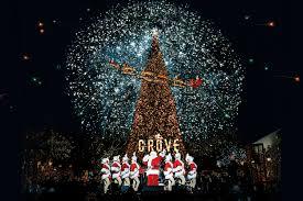 Christmas Tree Lighting A California Christmas At The Grove U2022 The Grove La