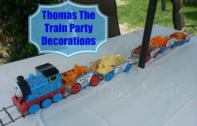 Train Decor Thomas The Train Party Decorations Little Miss Kate