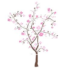 roommates rmk1555gm spring blossom peel u0026 stick giant wall decal