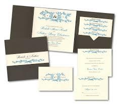 Wedding Invitation Pocket Spirit Pocket Wedding Invitation