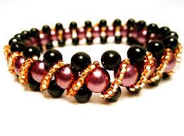 bracelet bead tutorials images Free pattern for beaded bracelet pamela beads magic jpg