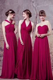 new kelsey rose bridesmaid dresses for 2017 cerise pink wedding