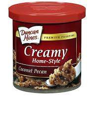 creamy home style coconut pecan frosting duncan hines