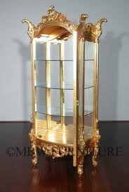 Mahogany Display Cabinets With Glass Doors by Solid Wood Curio Cabinets Foter