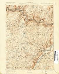 State Map Of Pennsylvania by