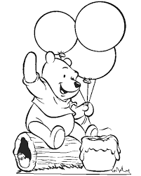 drawn birthday winnie pooh pencil color drawn