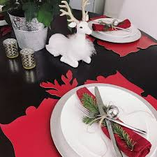 red and silver christmas table settings looking for inspiration for your holiday table this is an easy and
