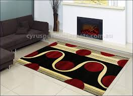 Modern Rugs Designs Roma Modern Circle Design Rug Br 2249 0 Black Roma Modern Circle