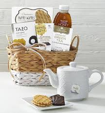 1800 gift baskets relaxing tea honey gift basket with teapot 1800 baskets