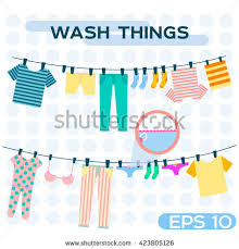 hanging clothes stock images royalty free images u0026 vectors