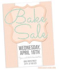 spring bake sale flyer design bake sale flyers u2013 free flyer designs