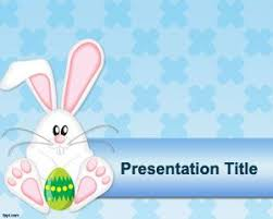 easter bunny for powerpoint u2013 happy easter 2017