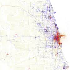 Chicago Heights Map by Edward Tufte Forum Unusual Maps