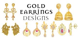 gold ear ring image 25 most attractive and simple gold earring designs styles at
