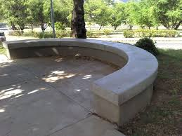 Curved Outdoor Benches Concrete Garden Furniture Ireland Descargas Mundiales Com