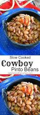 slow cooked cowboy pinto beans