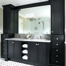 Double Bathroom Vanity Tops by Vanities Black Double Vanity Bathroom 60 Black Double Bathroom