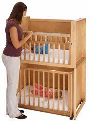 Baby Mini Cribs Decker Bunk Bed Stacked Cribs Must Save Space Right