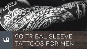 90 tribal sleeve tattoos for