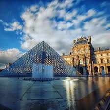 louvre pyramid at night paris take me there pinterest