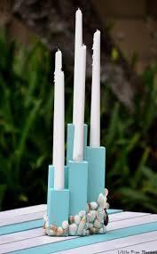 diy coastal candle holder centerpiece anika u0027s diy life