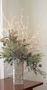 Led Branch Centerpieces by Lighted Pinecone Branch Centerpiece Lighted Branches Pine Cone