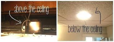 Drop Ceiling Can Lights Light Drop Ceiling Light