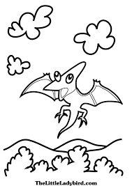free dinosaurs coloring pages thelittleladybird com