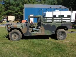 doors missing 1991 am general hummer military for sale