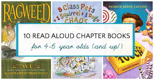 year books read aloud chapter books for 4 and 5 and 6 year olds