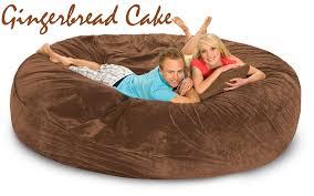 bean bag sofa bed 8 ft u2013 gigantic bean bags