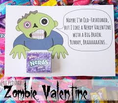 free printable zombie images free printable zombie valentine myfavoritebloggers do small