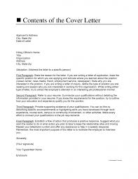 how to start a cover letter letters u2013 free sample letters